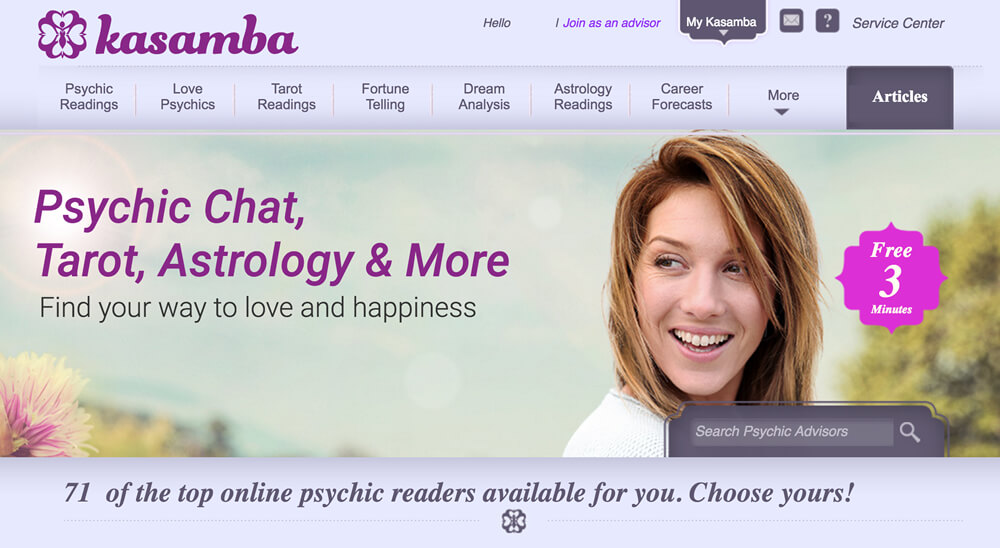 Kasamba Psychic Chat Review
