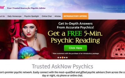 AskNow Review; Best Psychics on AskNow